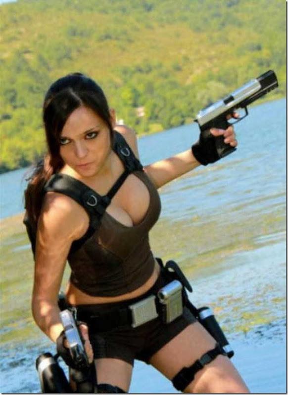 Os melhores cosplays de Lara Croft 3
