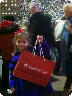 American Girl! and Rockefeller Tree!