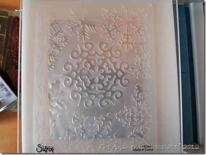 Sizzix Snowflake Folder