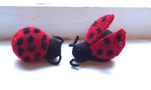 Amigurumi Ladybug : ChemKnits: Amigurumi LadyBug - Simple Version