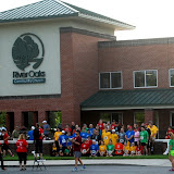 WBFJ - 5k Run for God - Samaritan Ministries - River Oaks Community Church - Clemmons - 5-11-13