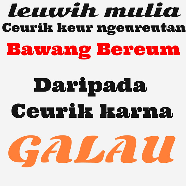 DP BBM Gokil