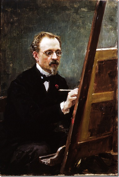 Raimundo de Madrazo -Retrato de Federico de Madrazo 1857