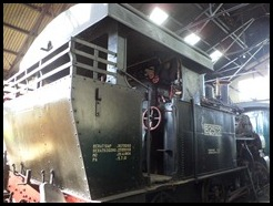Indonesia, Ambarawa Railway Museum, Loco, Haarl Germany, N-B2502, 11 January 2011 (1)