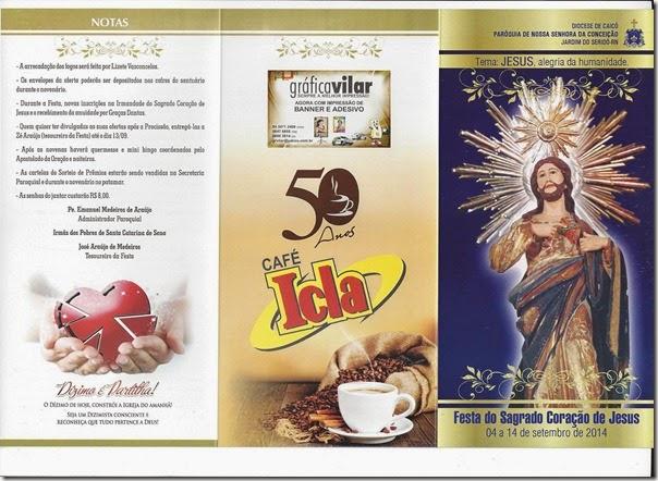 FESTA DO SAGRADO CORAÇÃO DE JESUS (capa)