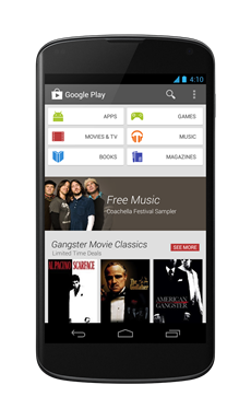 Google Play Store 4.0 3