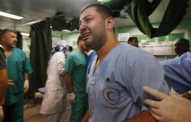 gaza - paramedic