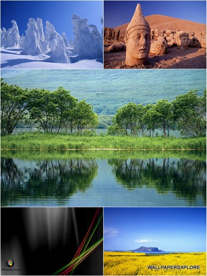 30 Window 7 Dreamy Unseen Desktop 3D HD Wallpapers { SET 11 }