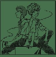 Ikari Shinji & Nagisa Kaworu (Evangelion)