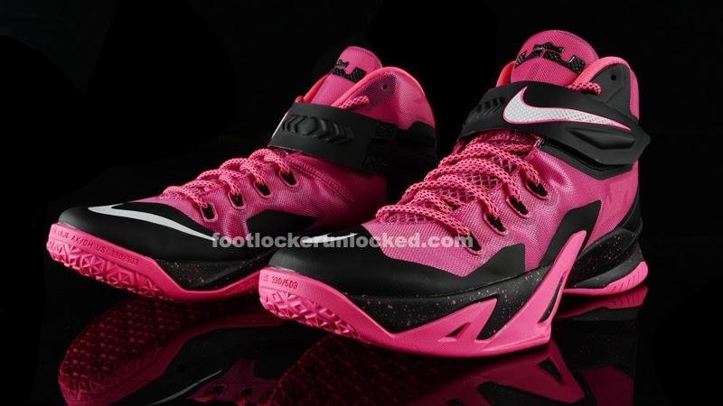 Lebron Soldier 8 Pink Release Reminder: Nike...