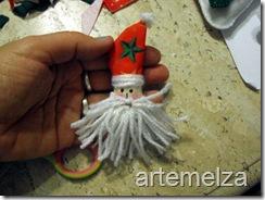 Шить - лицо Санта-Клаус-43
