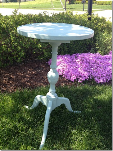 Small tables Duck Egg Blue 008