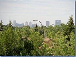 8788 Alberta Calgary Wingate - view of Calgary skyline from our room