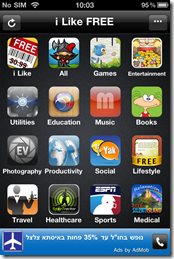 I Like Free - iPhone App For Finding AppStore Apps that went free