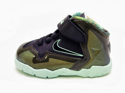 nike lebron 11 toddler army slate 1 04 parachute gold Nike LeBron XI Toddler Parachute Gold Available Now