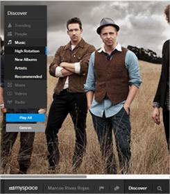 Un vistazo más de cerca al nuevo MySpace