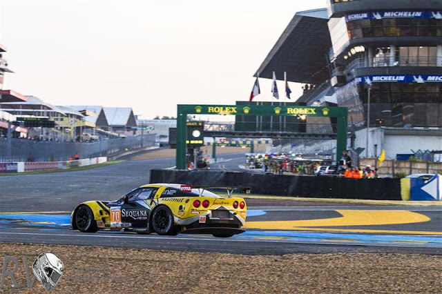 LARBRE COMPETITION took out the GTE AM category with their Chevrolet Corvette C6-ZR1, (Drivers: Christophe BOURRET (FRA), Pascal GIBON (FRA), Jean-Philippe BELLOC (FRA)) (PHOTO: Rolex / Stephan Cooper)