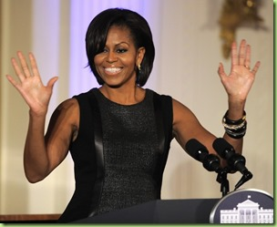 michelle obama jonathan saunders face
