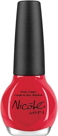 Nicole by OPI Please Red-cycle