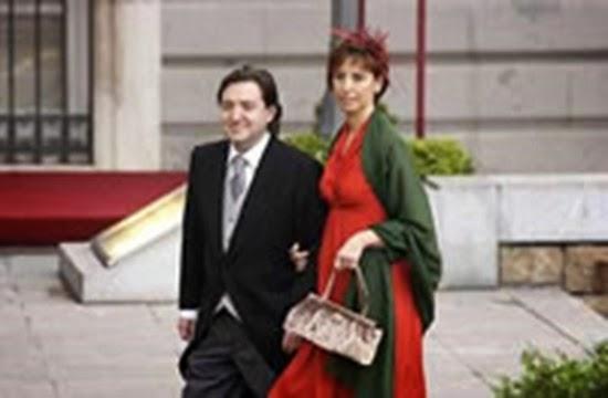 Federico Jiménez Los Santos junto a su esposa
