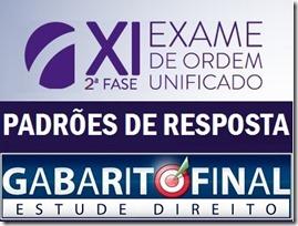 XI OAB - Padrões resposta 2ª fase