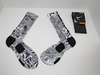 nike basketball elite lebron socks freegums 1 01 Matching Nike Basketball Elite Socks for LeBron 9 Miami Vice