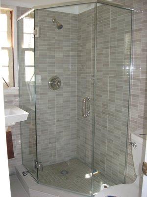 custom shower pan image