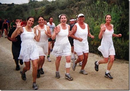 Camp Pendleton Mud Run running with friends