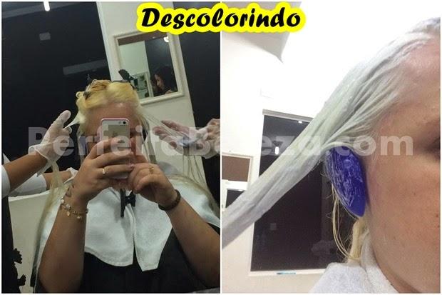 como deixar o cabelo branco