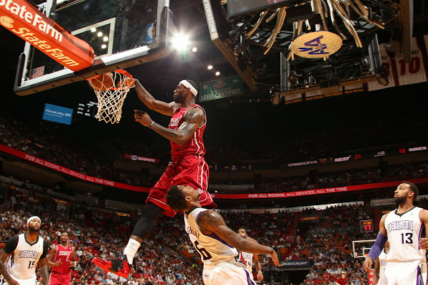 King James Posterizes Ben McLemore in Nike Lebron 11 8220Away8221