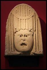 v museum funerary drama mask