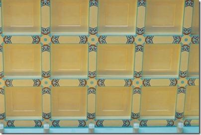 Flat chess ceiling 藻井(平棋天花)