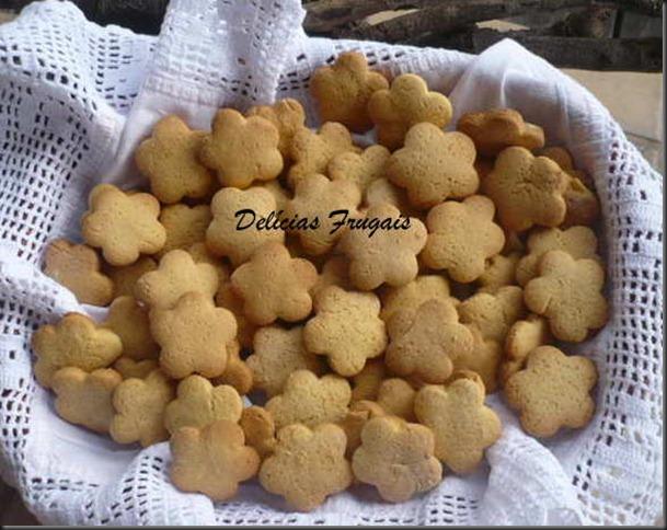 Biscoitinho de fubá - delícias frugais