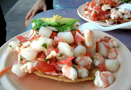 House Tostada at La Playa Seafood