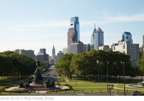 'Philadelphia Skyline' photo (c) 2012, Rob Shenk - license: http://creativecommons.org/licenses/by-sa/2.0/