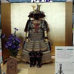 samurai outfit at narita airport in Shinjuku, Tokyo, Japan