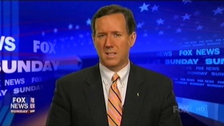 Santorum on Fox News