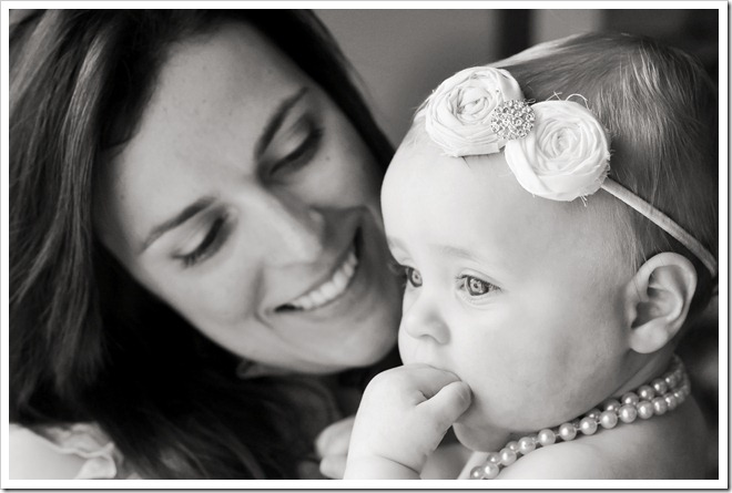 mommy and K bw