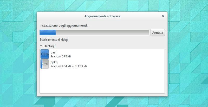 Ubuntu GNOME 14.04 Trusty - Gestore Aggiornamenti