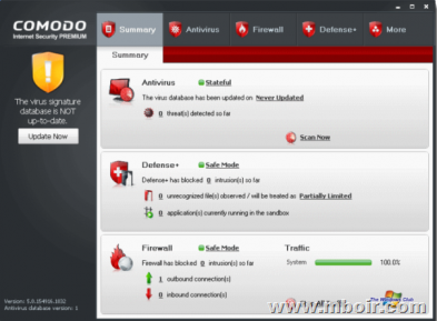 Comodo Internet Security - mboir