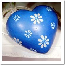Sub. A heart shaped stone