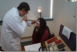 Los controles oftalmológicos del programa municipal Ver para Creer alcanzará a alumnos del nivel secundario