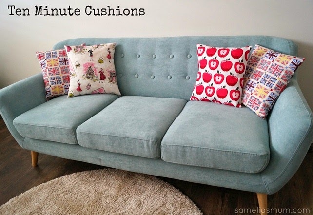 Ten Minute Cushions Tutorial
