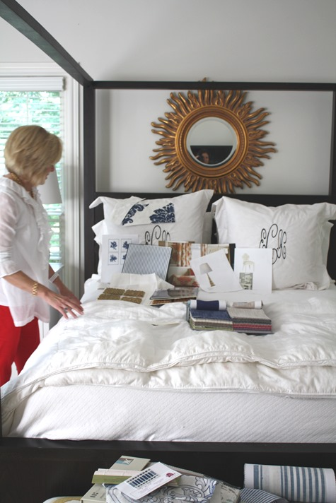 interior design consulation for the master bedroom