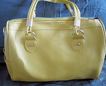yellow parisian bag, bitsandtreats