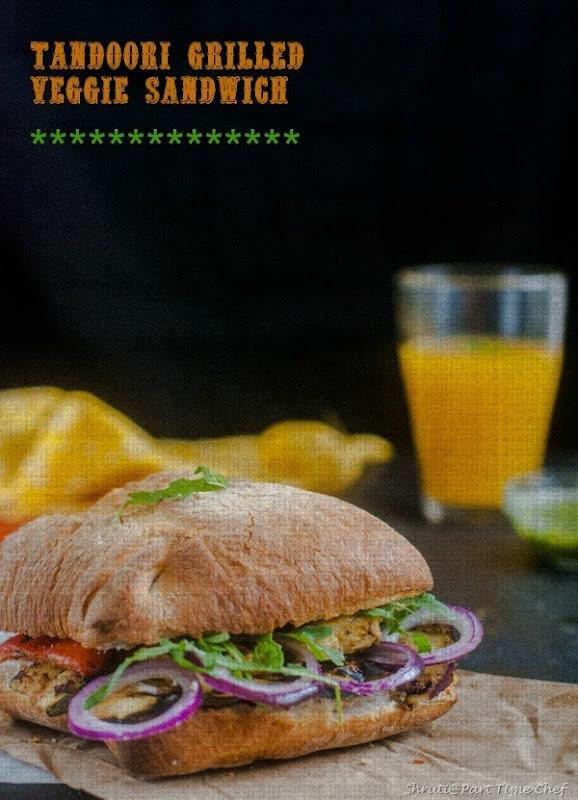 Texture Tandoori grilled veggie sandwich-1