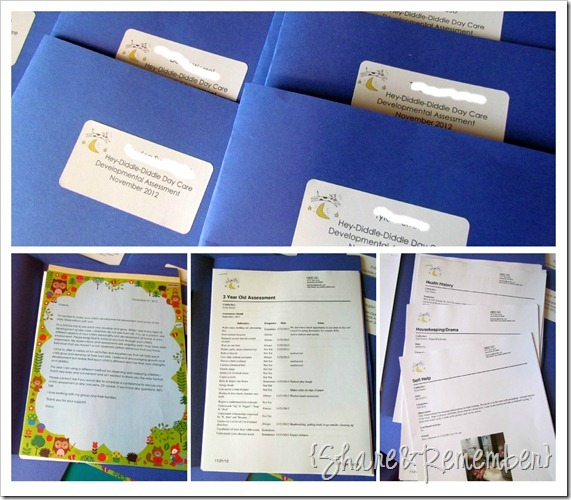 Preschool Assessments & Portfolios