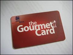 SM Gourmet Card