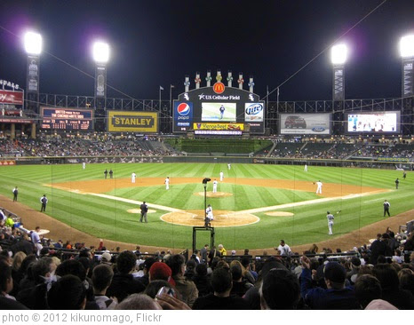 'US Cellular Field @ Chicago' photo (c) 2012, kikunomago - license: https://creativecommons.org/licenses/by/2.0/