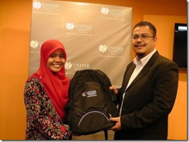 Najwa-Latif-Joins-UNITAR-International-University-300x225